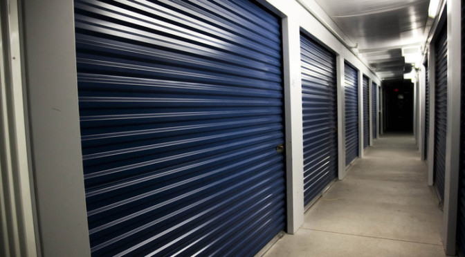 Indoor, climate controlled storage units at Central Self Storage in Mesa, AZ.
