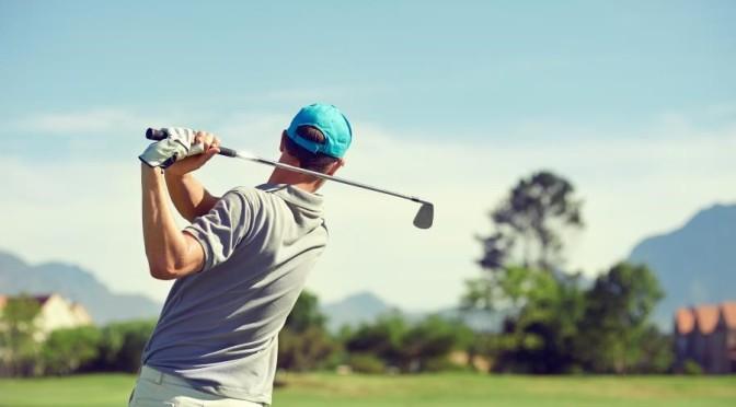 Golfing in Pleasanton, CA