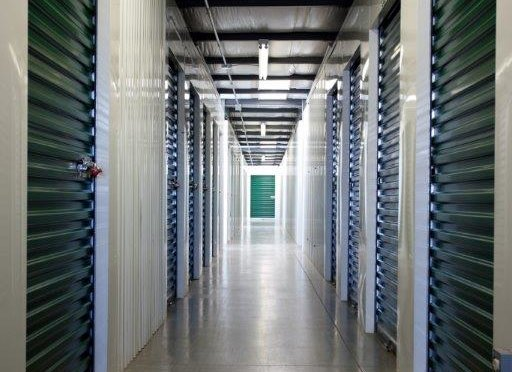 Indoor, climate controlled storage units at Central Self Storage in Kansas City, KS.