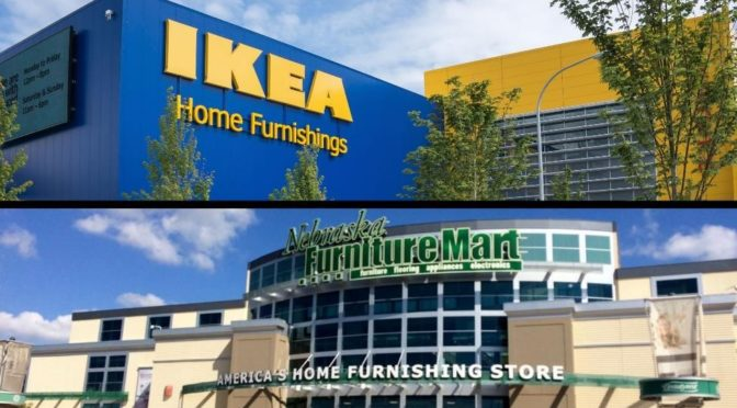 Ikea or Nebraska Furniture Mart: Kansas City's Furniture Debate