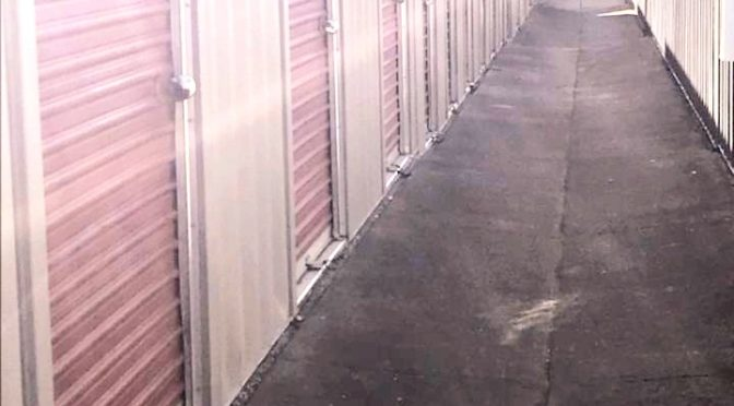 Outdoor storage units at Central Self Storage in San Leandro, CA.